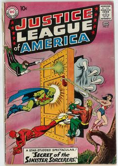 Justice League of America #2 GD/VG