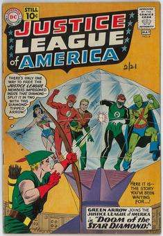 Justice League of America #4 VG+