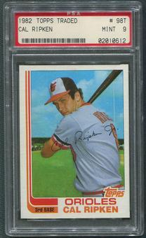 1982 Topps Traded Baseball #98T Cal Ripken Jr. Rookie PSA 9 (MINT)