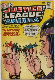 Justice League of America #10 VG/FN