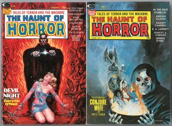 Haunt of Horror (Digest) 1 & 2 VF/NM