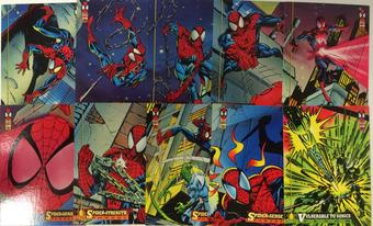 Amazing Spider-Man Trading Card Set of 150 (1994 Fleer)