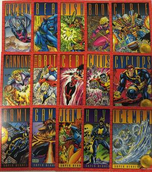 X-Men Series 2 Trading Card Set of 100 (1993 Skybox)