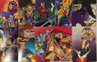 X-Men Trading Card Set of 90 (1991 Comic Images)
