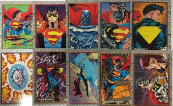Return of Superman Trading Card Set of 100 (1993 Skybox)