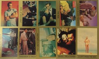 James Bond 007 Trading Card Set Series 1 (Eclipse 1993)