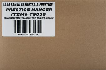 2014/15 Panini Prestige Basketball Mystery Rookie Rack Pack 36 Box Case