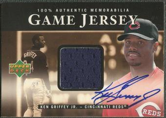 2000 Upper Deck #HKG Ken Griffey Jr. Game Jersey Auto