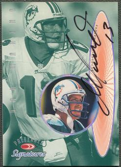 1999 Donruss Preferred QBC #7 Dan Marino Auto
