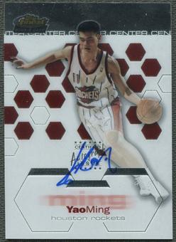 2002/03 Topps Finest #169 Yao Ming Rookie Auto #066/999