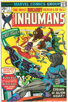 Inhumans #1  VF