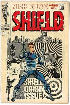 Nick Fury, Agent of S.H.I.E.L.D.  #4  FN+