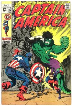Captain America #110 VF+