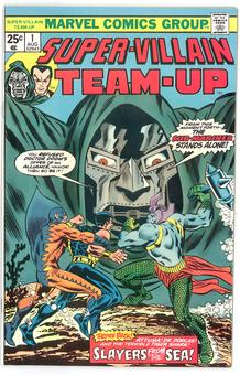 Super Villain Team-Up  #1  NM-