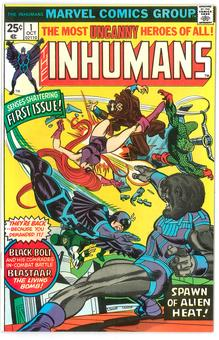 Inhumans  #1  NM-