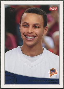 2009/10 Topps Basketball #321 Stephen Curry Rookie
