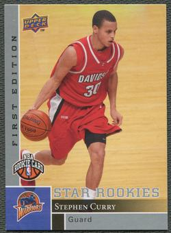 2009/10 Upper Deck First Edition Basketball #196 Stephen Curry Rookie