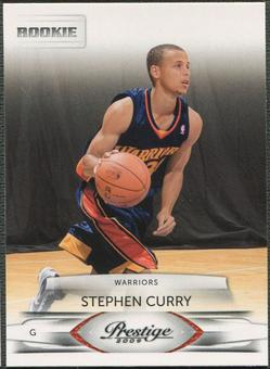 2009/10 Prestige Basketball #157 Stephen Curry Rookie