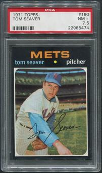 1971 Topps Baseball #160 Tom Seaver PSA 7.5 (NM+)