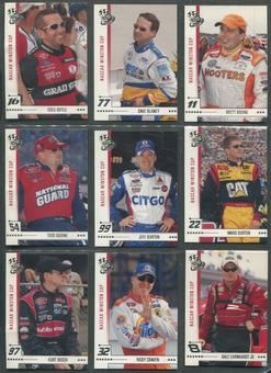 2004 Press Pass Racing Complete Set W/ Insert Sets