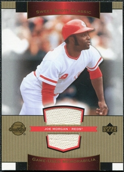 2003 Upper Deck Sweet Spot Classics Game Jersey #JM Joe Morgan