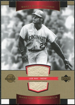 2003 Upper Deck Sweet Spot Classics Game Jersey #LM Lee May