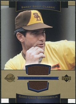 2003 Upper Deck Sweet Spot Classics Game Jersey #SG Steve Garvey