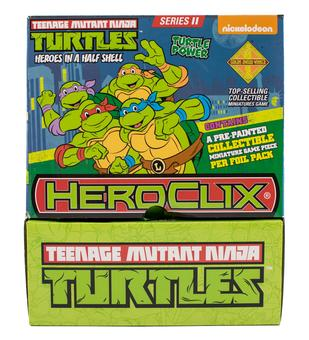 Teenage Mutant Ninja Turtles HeroClix: Heroes in a Half Shell Gravity Feed Box (24 Ct.)