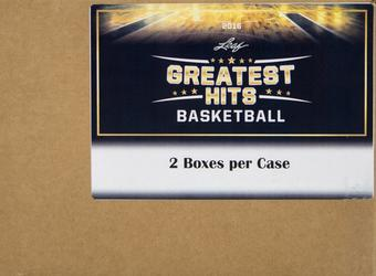 2015/16 Leaf Greatest Hits Basketball Hobby 2-Box Case