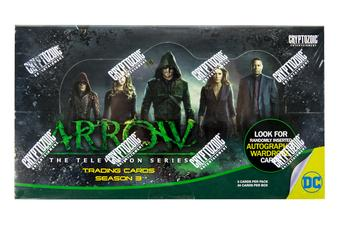 Arrow Season Three Trading Cards Box (Cryptozoic 2016)