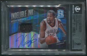 2013/14 Panini Spectra #28 Kevin Durant Indelible Ink Jersey Auto #05/40 BGS 9 (MINT)