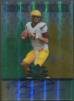 2012 Leaf Valiant Draft #BO1 Brock Osweiler Rookie Auto