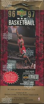 1996/97 Upper Deck Collector's Choice Basketball Retail 96 Pack Box