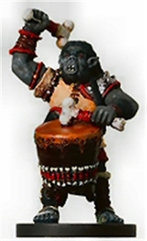 Dungeons & Dragons Mini War Drums Orc Wardrummer Figure
