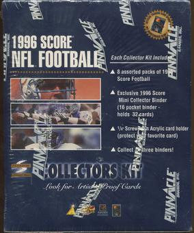 1996 Score Football Collector's Kit Box