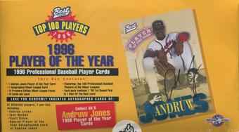 1996 Best Cards Player Of The Year Baseball Box