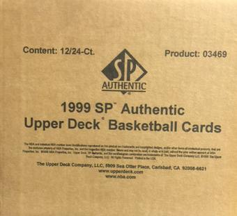 1998/99 Upper Deck SP Authentic Basketball Hobby 12-Box Case