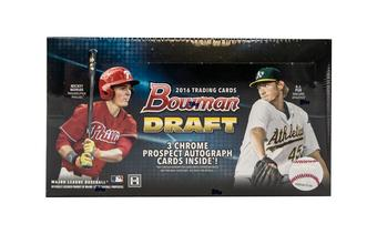2016 Bowman Draft Baseball Hobby Jumbo Box