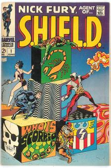 Nick Fury, Agent of S.H.I.E.L.D  #1  VF