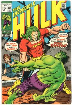 Incredible Hulk #141 VG/FN