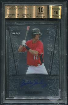 2011 Leaf Metal Draft #BS2 Bubba Starling Rookie Auto BGS 10 (PRISTINE)
