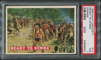 1956 Davy Crockett Orange #10 Ready to Strike PSA 7 (NM)