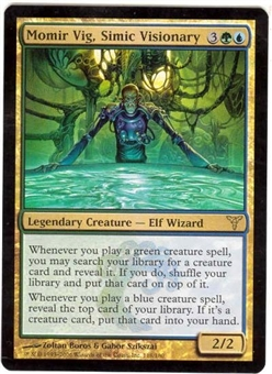 Magic the Gathering Dissension Single Momir Vig, Simic Visionary FOIL