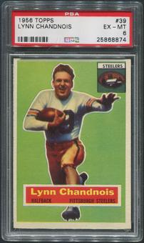 1956 Topps Football #39 Lynn Chandnois PSA 6 (EX-MT)
