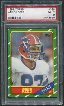 1986 Topps Football #388 Andre Reed Rookie PSA 9 (MINT)