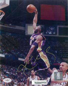 Kobe Bryant Autographed Los Angeles Lakers 8x10 Photograph JSA