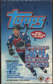 1999/00 Topps Hockey Retail 36-Pack Box