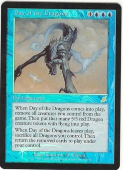 Magic the Gathering Scourge Single Day of the Dragons - NEAR MINT (NM)