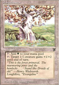 Magic the Gathering Legends Single Pendelhaven - SLIGHT PLAY (SP)