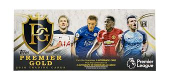 2016 Topps Premier League Gold Soccer Hobby Box